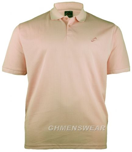 Mesh Polo Shirt SALMON PINK